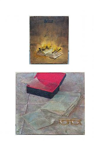 the burning letters by vitaly komar