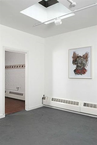 installation view by william pope.l
