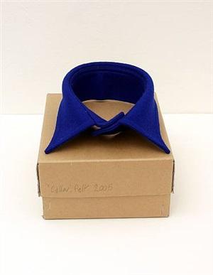 collar. felt by darren lago
