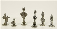 chess set by dorothy dehner