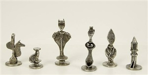 chess set by dorothy dehner