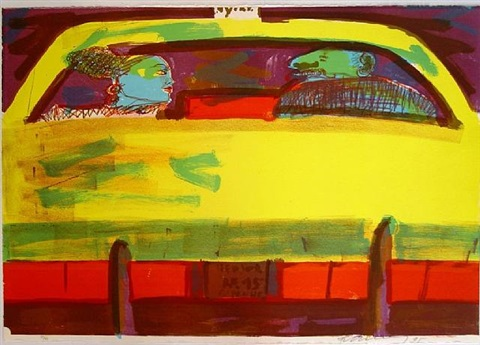 n.y. taxi by rainer fetting