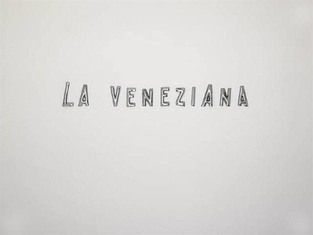 la veneziana by kris martin