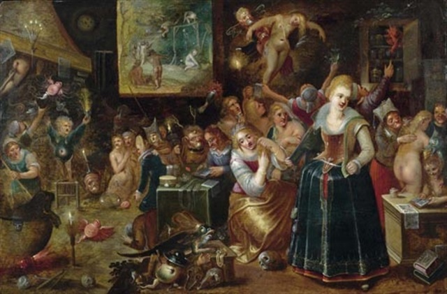 Die Hexenküche By Frans Francken The Younger