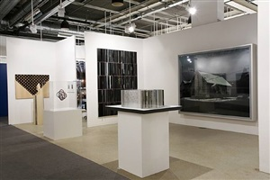 art basel booth installation view