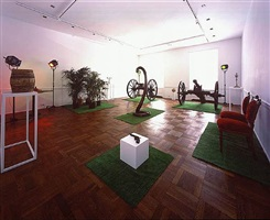 installation view: décor: a conquest by marcel broodthaers