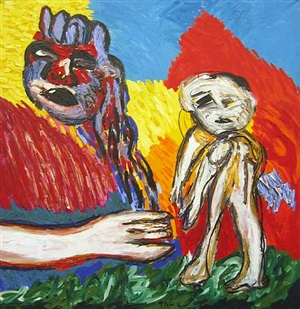 witnessing the dawn by karel appel