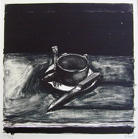 cup and saucer by richard diebenkorn