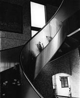 untitled, (spiral stairway) by daido moriyama