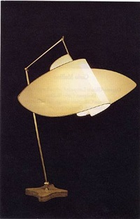 "suora lamp (from the collection ""homage to carlo mollino"") by carlo mollino"