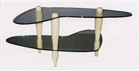 "boomerang - homage to miller table, 1937 (from the collection ""homage to carlo mollino"") by carlo mollino"