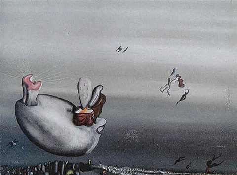 roux en hiver (660) by yves tanguy
