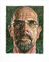 untitled by chuck close