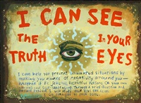 i can see truth in your eyes by renée stout