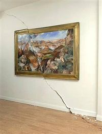 cracked canyon by valerie hegarty