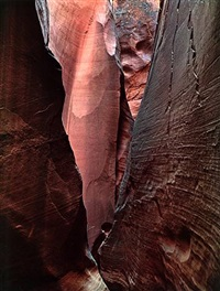 dungeon canyon, glen canyon, august 29th by eliot porter