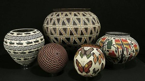 wounaan tribal baskets from the darien rainforest in panama