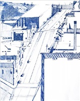 down 18th by wayne thiebaud