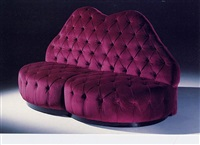 devalle sofa: homage to the devalle house, 1939 (from the by carlo mollino