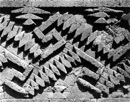 pre-hispanic ruins, mitla, oaxaca (37068) by edward weston