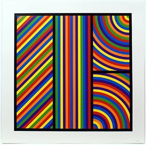bands of equal width and colour 3 by sol lewitt