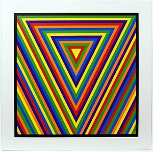 bands of equal width and colour 4 by sol lewitt