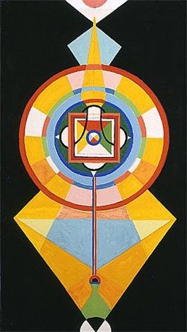 gouache #220: mandala of the diamond scepter by charmion von wiegand