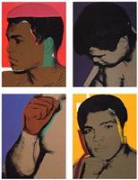 muhammad ali portfolio by andy warhol