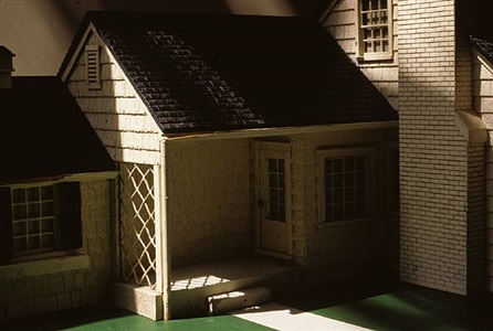 white house/ green lawn (view i) by laurie simmons