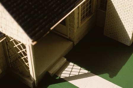 white house/ green lawn (view iv) by laurie simmons