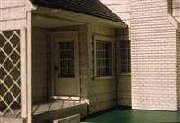white house/ green lawn (view iii) by laurie simmons