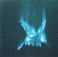 falling birds ii by ross bleckner