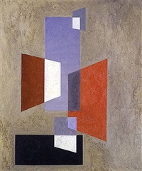 untitled (intersecting trapezoids) by charles green shaw