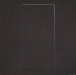six geometric figures - rectangle by sol lewitt