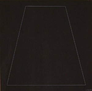 six geometric figures - trapezoid by sol lewitt
