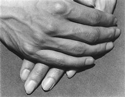 estudio de manos de tamayo, mexico by manuel alvarez bravo