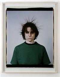 static portraits (galen, karl, lisa) by mona hatoum