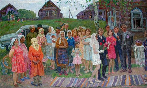 the wedding (sold) by aleksei and sergei tkachev