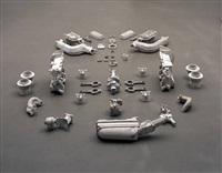 auto construcción ii, motor, (auto construction ii, engine) by damián ortega