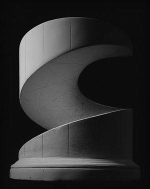 helicoid: minimal surface by hiroshi sugimoto