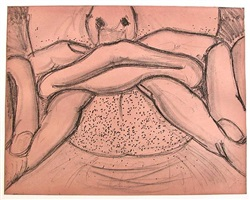 soft ground etching – coral by bruce nauman