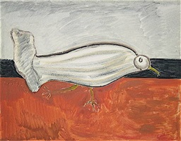 gull by milton avery