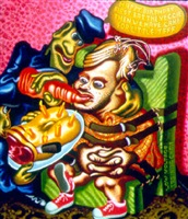 jeffrey dahmer by peter saul