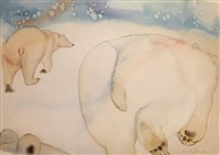 snow bear leaves the company of bears by carol grigg