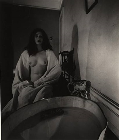 the haunted bathroom, campden hill, london, 1948, january by bill brandt