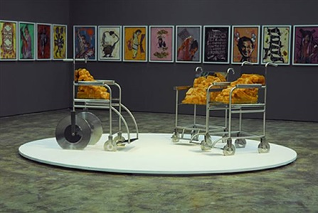 the beuys trilogy (eyes/ nose/ fears) by jitish kallat