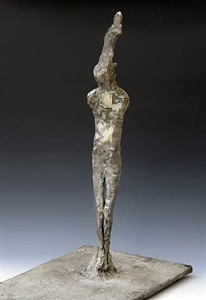 <!--24-->standing figure i by nathan oliveira