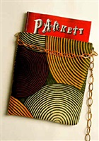 pouch for parkett (edition for parkett 37) by franz west