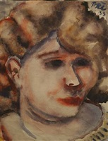 head of woman by paul kleinschmidt