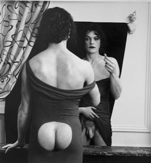 man reflected, paris by joel-peter witkin